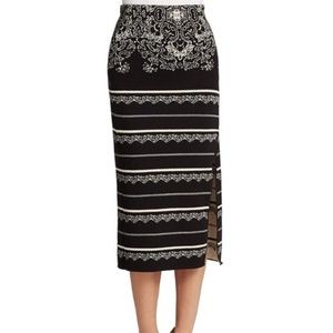 🆕 Free People Irreplaceable Woven Pencil Skirt M